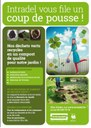 Achat de compost au Biocentre de Jeneffe