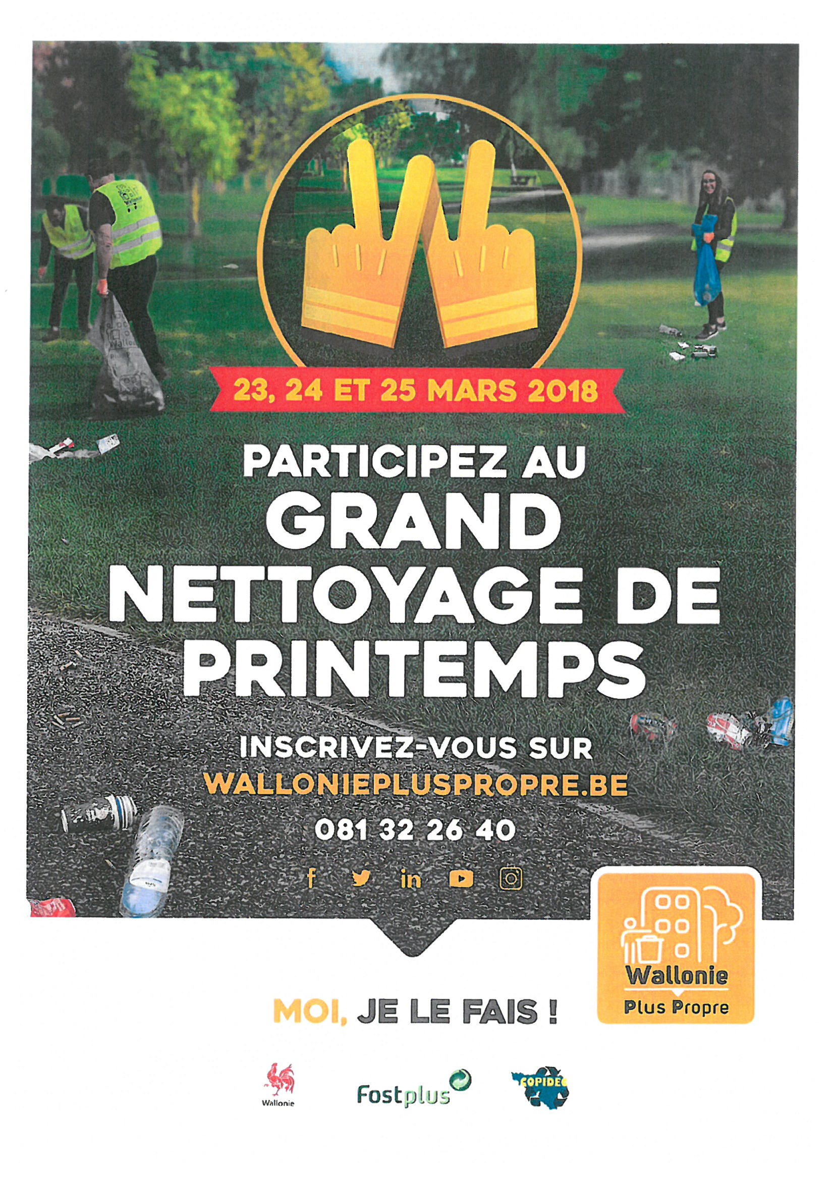 Be WAPP 2018 - Le grand nettoyage de printemps !