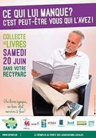 Collecte de livres dans les recyparcs
