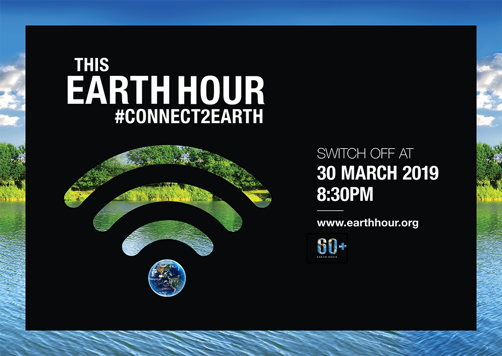 Earth Hour 2019 - samedi 30 mars
