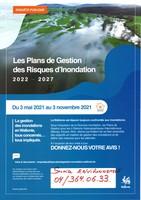 Enquête publique : Plans de Gestion des Risques d'inondation