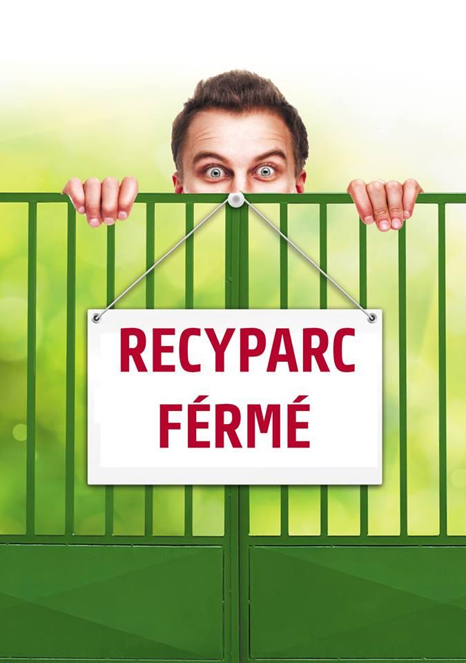 Fermeture des recyparcs