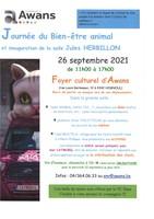 Journée du Bien-être animal et inauguration de la salle Jules HERBILLON