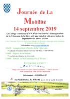 14 septembre 2019 - Journée de la Mobilité