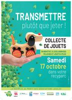 Collecte des jouets dans les recyparcs - 17 octobre 2020