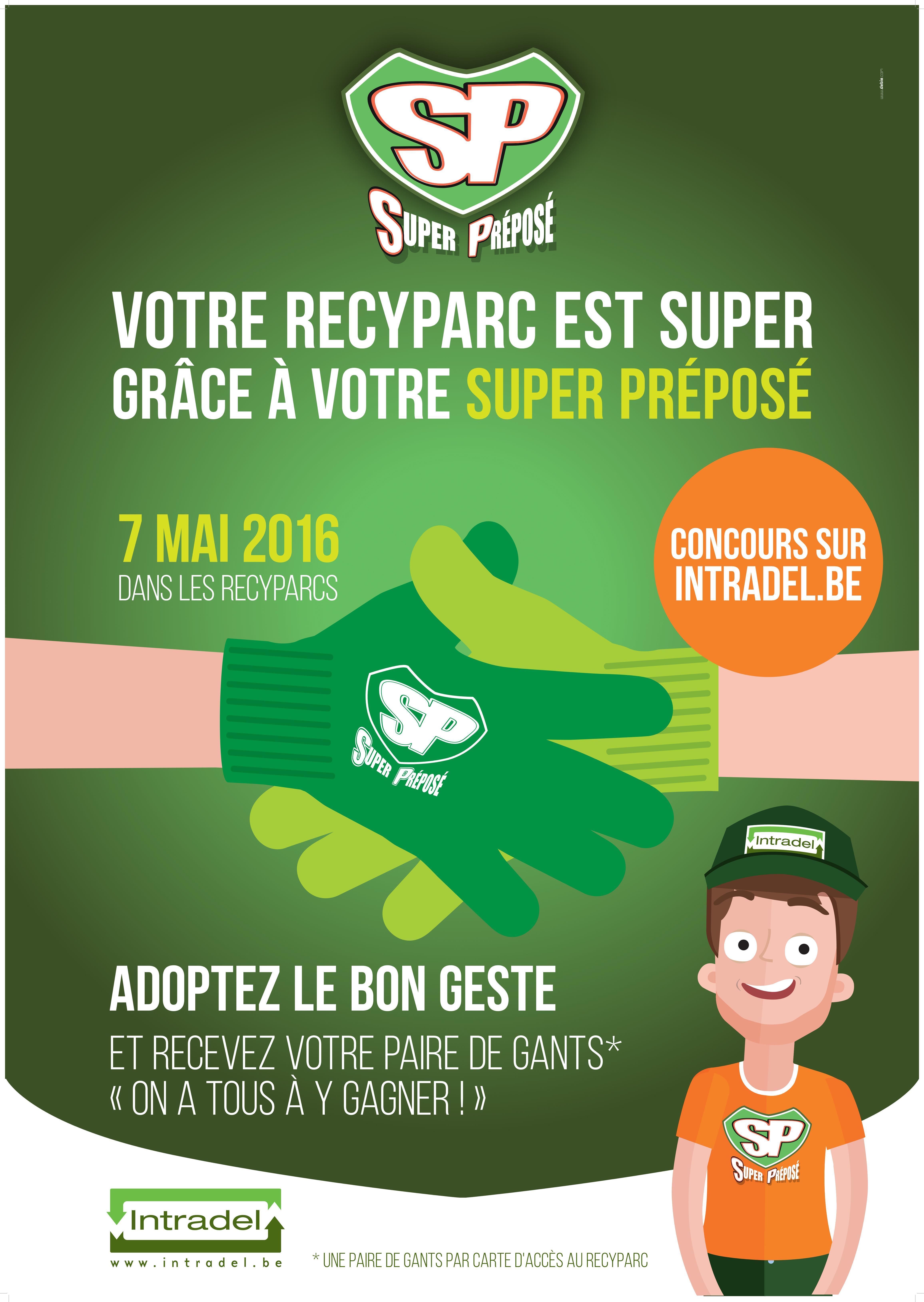 Journée des Préposés dans les recyparcs
