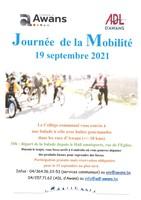 Semaine de la Mobilité - 19 septembre 2021